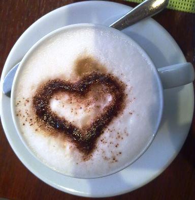 Bild von cappuccinoherz